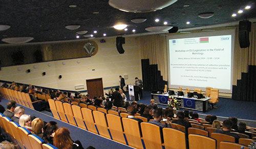 27-28 февраля 2014г. «Алекс Голд» принимает участие в семинаре по законодательству Европейского Союза в области метрологии.